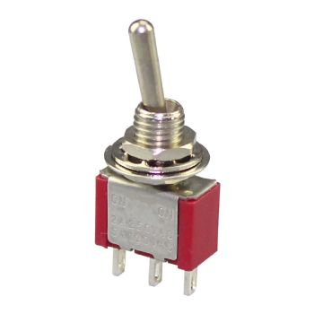 Miniature Toggle Switch - SPDT On/On
